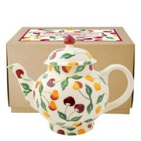 Emma Bridgewater - Summer Cherries, Pottery 4 Mug Tea Pot