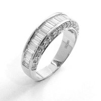 Eternity Ring, Diamond Set in 18ct. White Gold.