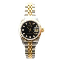 Rolex, 18 ct. Yellow Gold and Stainless Steel Watch, 1987
