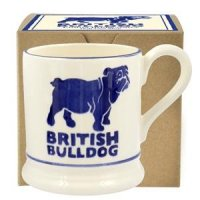 Emma Bridgewater - British Bulldog, Pottery Half Pint Mug