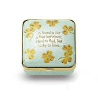 Halcyon Days - A Friend For life, Enamel Pill Box