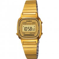 Casio - Classic Retro, Two Tone Digital Watch