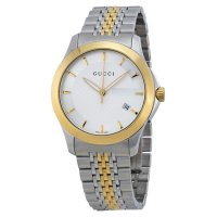 Gucci - Men's G-Timeless, Stainless Steel and Gold Plate Two Tone Watch