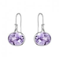 Georg Jensen - Savannah, Amethyst Set, Silver Earring