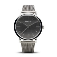 Bering - Unisex Classic, Stainless Steel Milanese Bracelet Watch