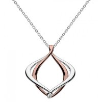 "Kit Heath - Infinity, Alicia Rose Gold Plate 18"" Necklace"