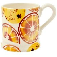 Emma Bridgewater - Oranges, Half Pint Pottery Mug