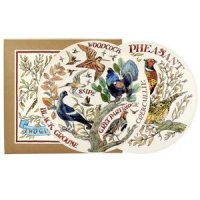 "Emma Bridgewater - Game Birds, Set Of 2 8 1/2"" Pottery Plates Boxed"