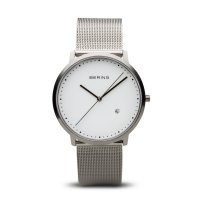 Bering - Unisex Classic, Stainless Steel Milanese Watch