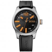 Hugo Boss - Orange Men's, Stainless Steel and Rubber Watch