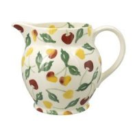 Emma Bridgewater - Summer Cherries, Pottery Jug, Size 1.5pint