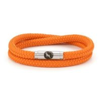 Boing - Satsuma Skinny, Stainless Steel Clasp Double Wrap 5mm - 6mm Bracelet, Size L