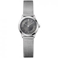 Calvin Klein - Minimal, Stainless Steel, Dark Grey Dial Watch
