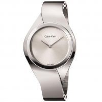Calvin Klein - Senses, Stainless Steel with Silver Dial Watch