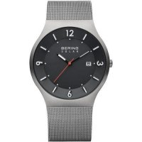 Bering - Gents, Stainless Steel Mesh Band, Solar Watch