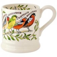 Emma Bridgewater - Garden Bird 1/2 Pint Pottery Mug
