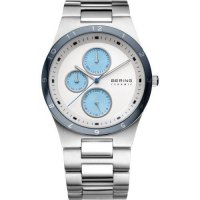 Bering - Ceramic, Stainless Steel Bracelet Chronograph Watch