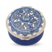 Halcyon Days - Royal Palaces, Enamel Pill Box