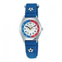 Lorus - Kids, Blue Fabric Strap Watch