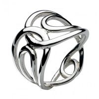 Kit Heath - Perpetua, Sterling Silver Ring, Size P