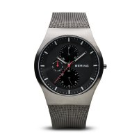 Bering - Stainless Steel Multifunctional, Men's Watch
