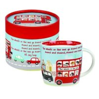 Churchill - The Wheels On The Bus Mug
