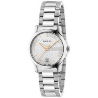 Gucci - Ladie's G-Timeless, Stainless Steel 27mm Watch