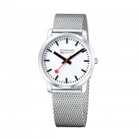 Mondaine - Gents, Stainless Steel with Mesh Bracelet Watch