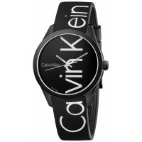 Calvin Klein - 'Color' Watch in Black