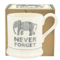 Emma Bridgewater - Never Forget, Pottery Half Pint Mug