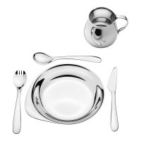 Georg Jensen - Apetito, Stainless Steel 5 Piece Children's Set
