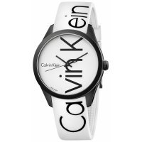 Calvin Klein - 'Color' Watch in White