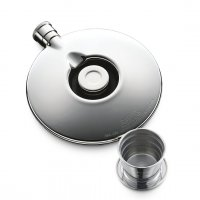 Dalvey - Stainless Steel Flask with Cup