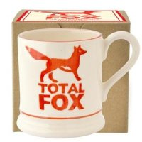 Emma Bridgewater - Total Fox, Pottery 1/2 Pint Mug