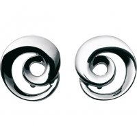 Georg Jensen - Moebius, Silver Earrings