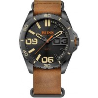 Hugo Boss - Leather Strap Watch