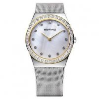 Bering - Classic, Sapphire Glass Set, Swarovski Silver Watch