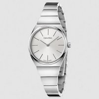 Calvin Klein - Ladies' Supreme, Stainless Steel Silver Dial Watch