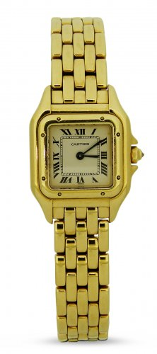 Cartier - Panthere, Yellow Gold - Watch, Size 22mm