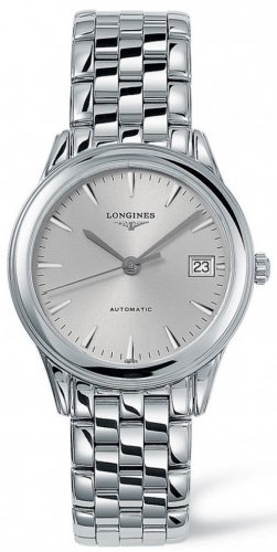 Longines - Grand Classique, Stainless Steel - Crystal Glass - Automatic Watch, Size 35.60mm