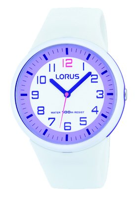 Lorus - Kids, White Sports Silicone Watch