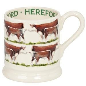 Emma Bridgewater - Hereford Cow 1/2 Pint Mug