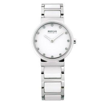 Bering - Ceramic and Stainless Steel Ladies Watch