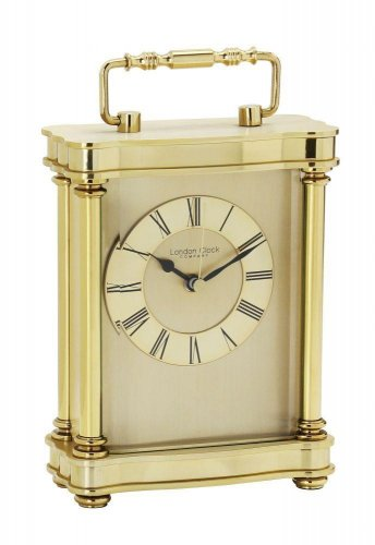 London Clock - Gold Finish Carriage Clock