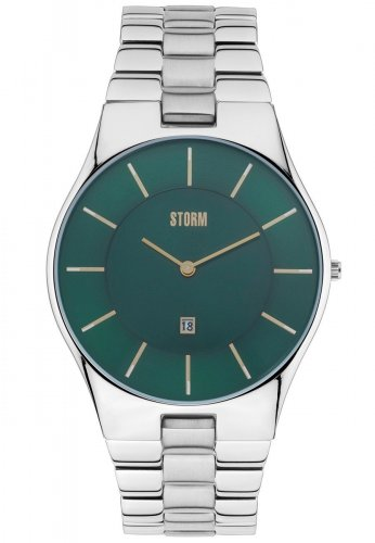 Storm - Slim-X XL, Stainless Steel Watch