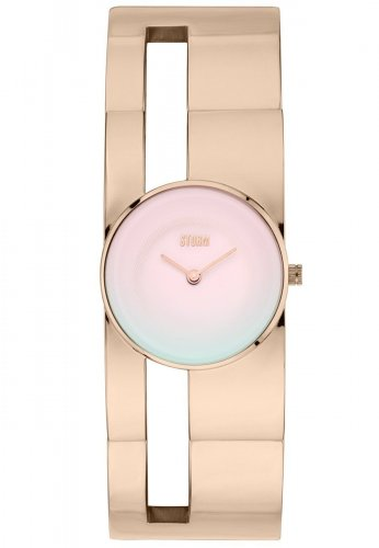 Storm - Irma, Rose Gold Stainless Steel Watch