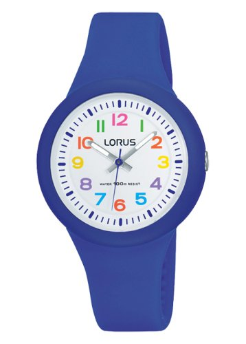 Lorus - Kids Dark Blue Silicone Strap Watch