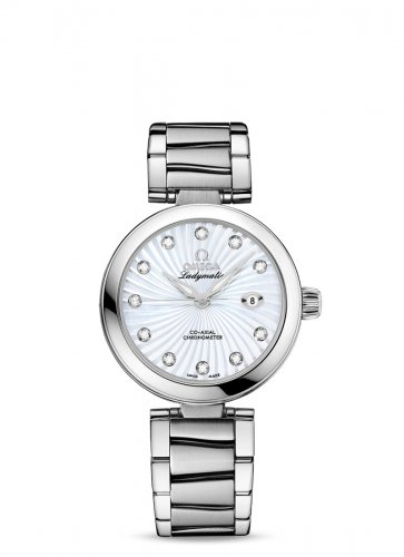 Omega, De Ville Ladymatic Co-Axial 34mm Watch 425.30.34.20.55.001