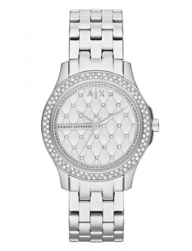 Armani Exchange - Cubic Zirconia Set, Stainless Steel Watch