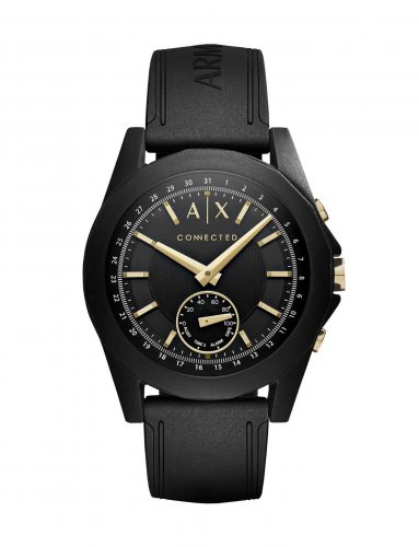 Armani Exchange - Connected Hybrid Smartwatch, Silicone Strap Watch